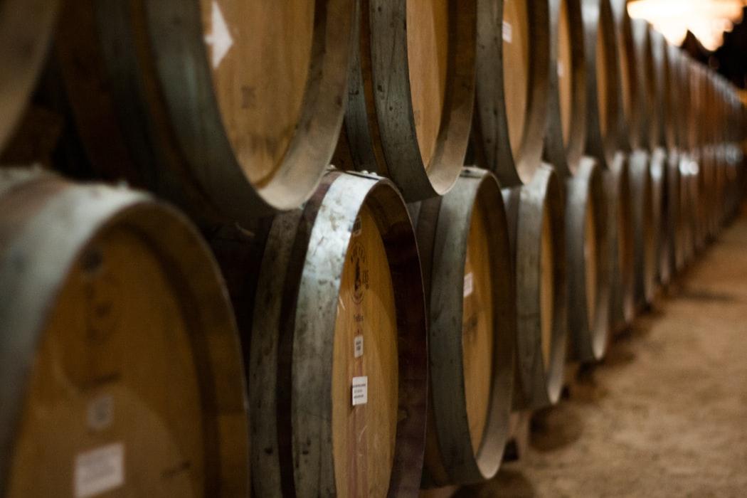 Whiskey Barrel Aging