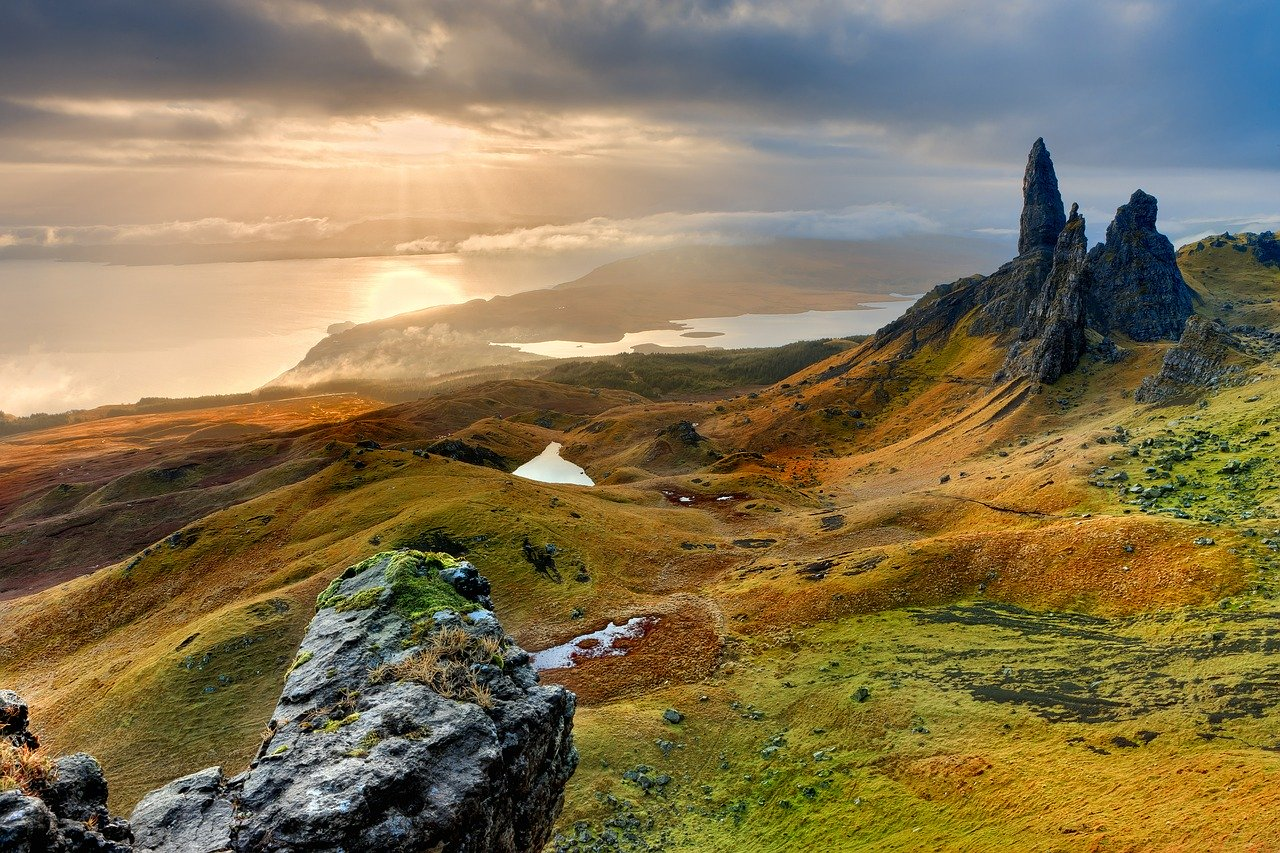 Isle of Skye Scotland Landscape